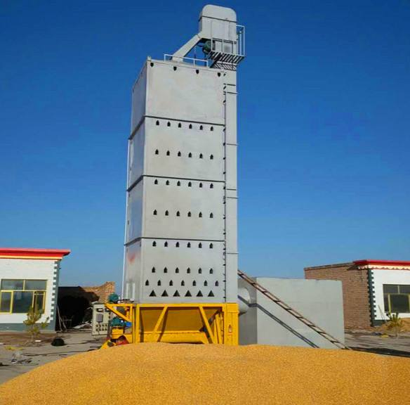 Corn drying tower