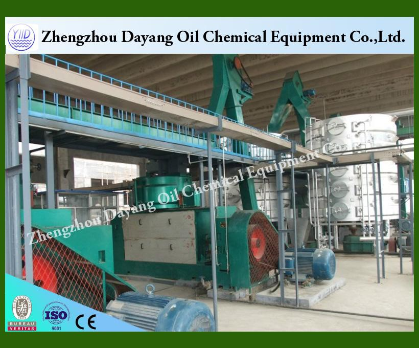 Sunflower seed oil extraction production line