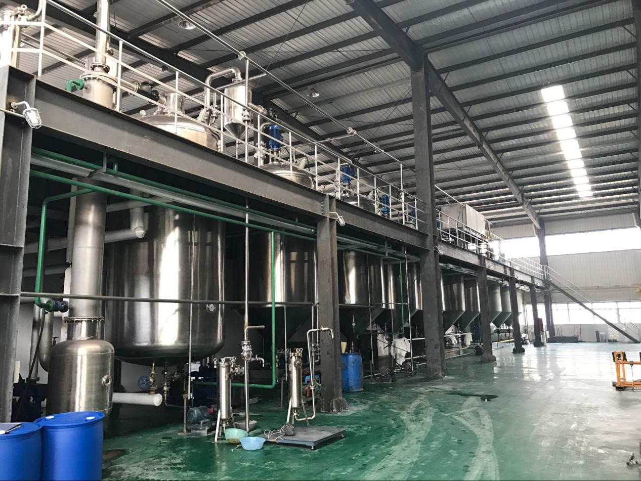 Soybean oil extraction production line