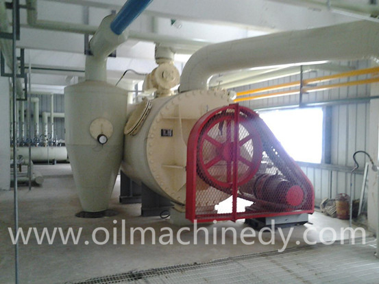 Soy protein production line