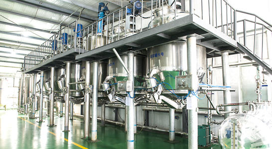 Krill oil production line